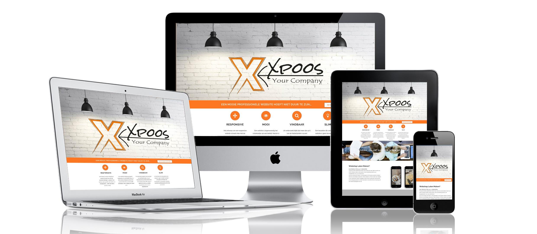 xpoos responsive website laten maken