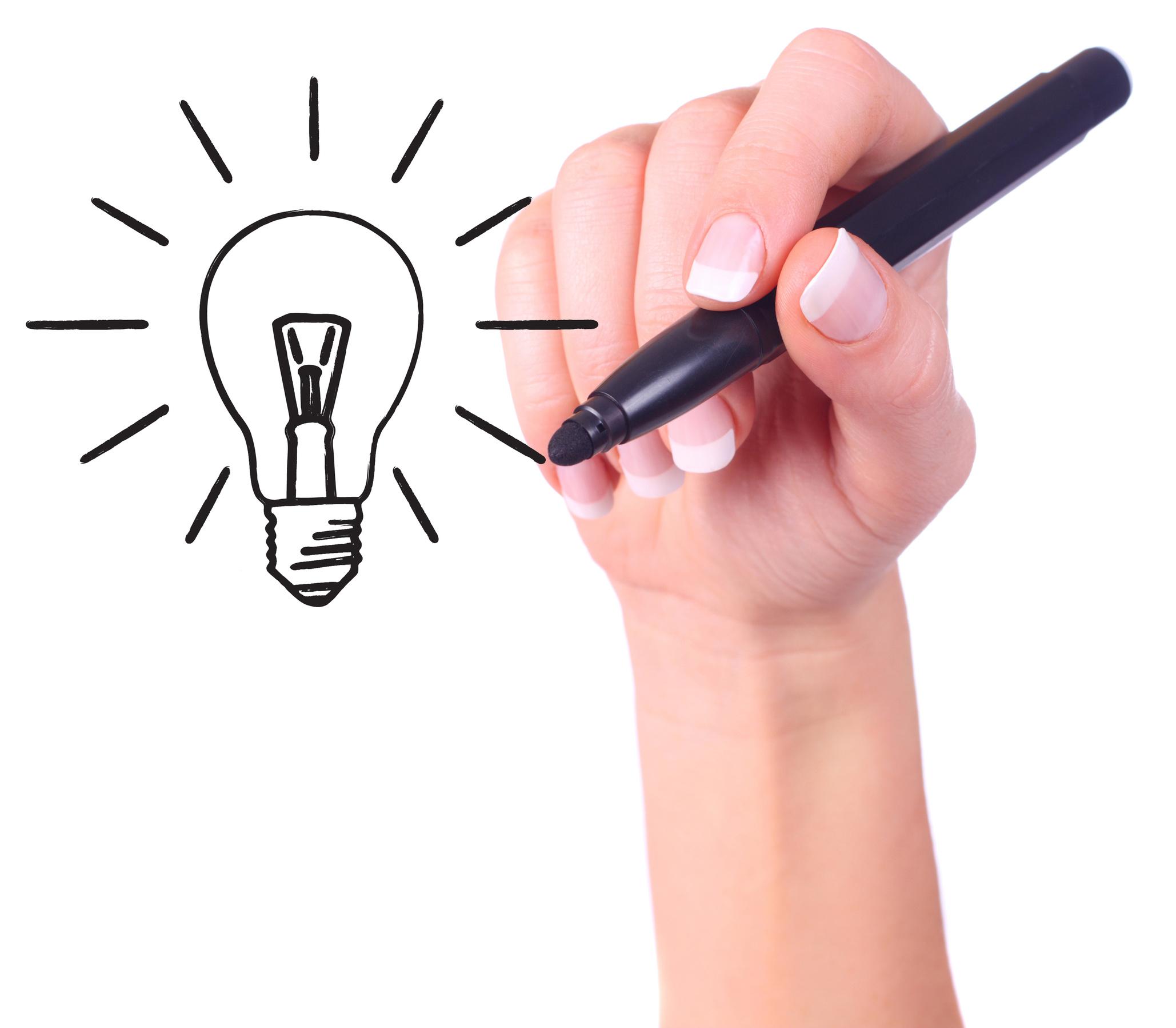 Hand tekening idee