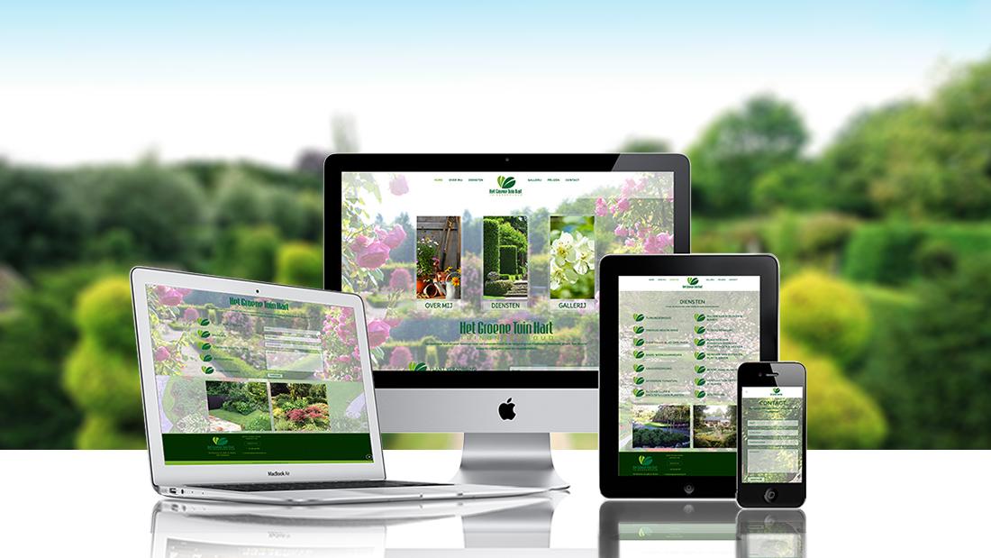 het groene tuinhart made by xpoos