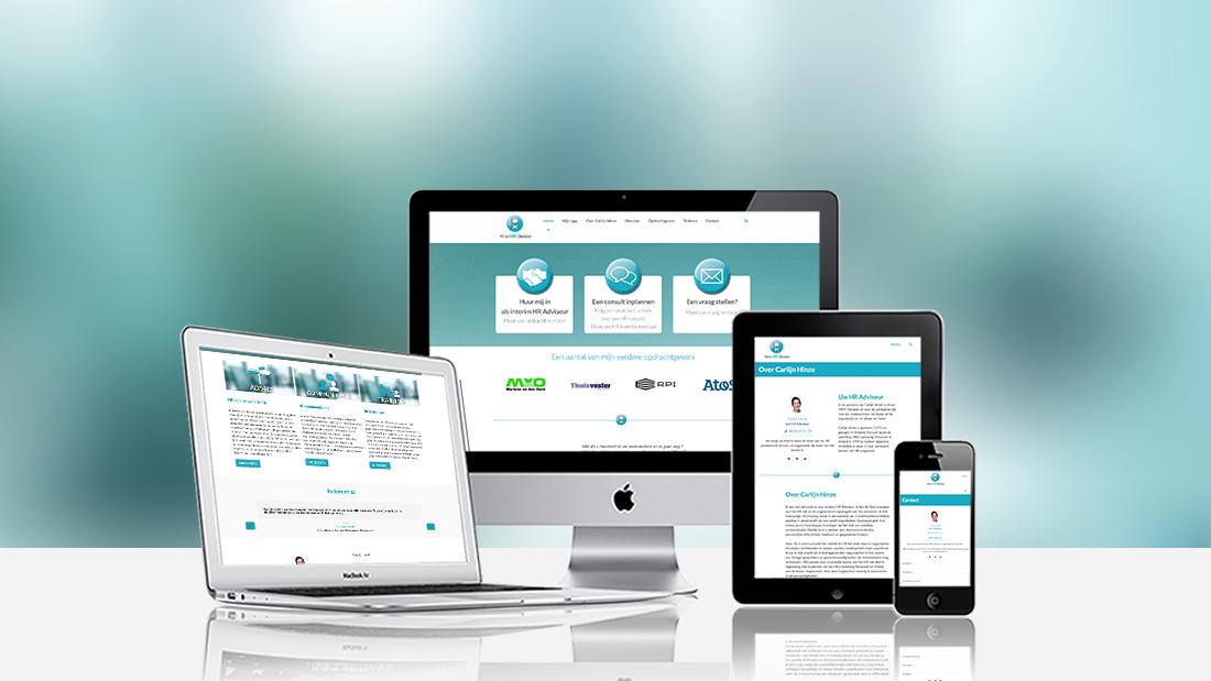 Webdesign Hinze HRM Diensten
