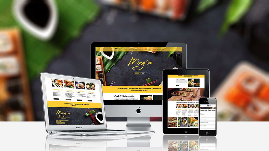 Webdesign-Mings-Restaurant